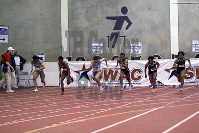Women's 60m dash final.