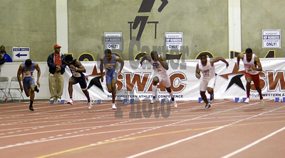 Men's 60m dash final.