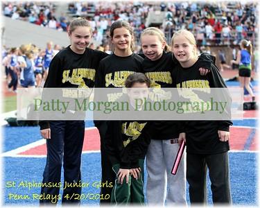 St A's Junior Girls Penn Relays Team 2010