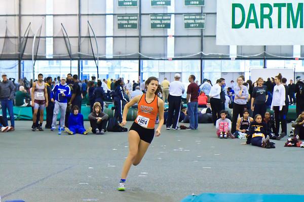 2012 Dartmouth Relays Jump Sequences