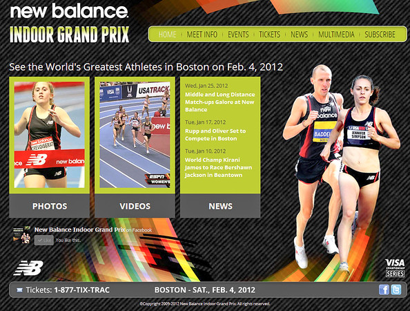 2012 Indoor New Balance Grand Prix