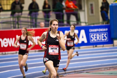 Cayla Hatton at the New Balance Indoor Grand Prix.