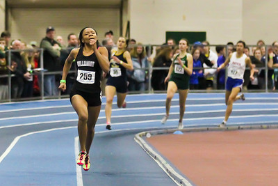 Precious Holmes winning the  300m at 2012 New England State Championships in Boston on March 2nd.