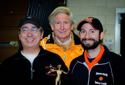 Newton North Coaches after winning 2012 Indoor D1 State Relays