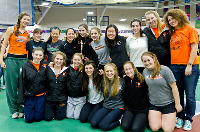 Newton North Seniors after winning 2012 Indoor D1 State Relays