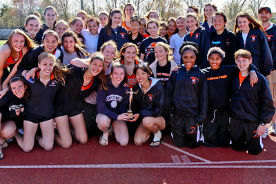 Newton North Girls win 2011 Outdoor D1 State Relays