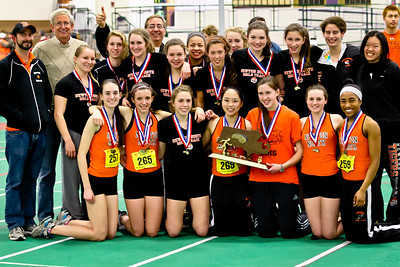 Newton North wins 2012 Indoor D1 State Open