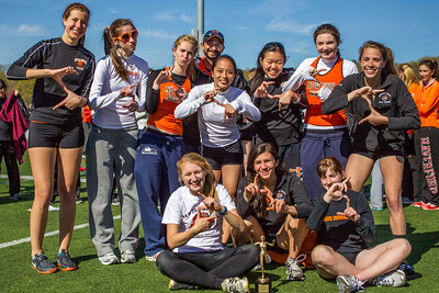 Newton North seniors after winning 2012 Outdoor D1 State Relays