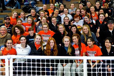Newton North Girls win 2012 Indoor D1 State Relays