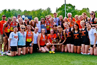 Newton North Girls win 2011 Outdoor D1 State Championships