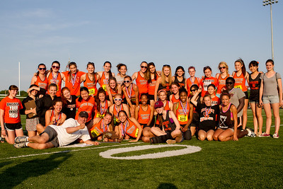 Newton north girls track team after winning 2012 Outdoor D1 State Championships