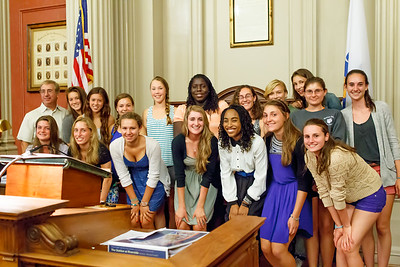 Newton north honored by city hall for outstanding 2011-2012 season