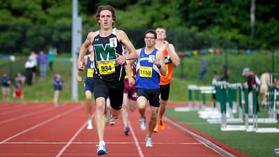 Josh Lampron completes his mile/800m double win at the State Open with a 1:51.99 meet record.