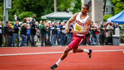 Weymouth's Khary Bailey-Smith wins the state open high jump.