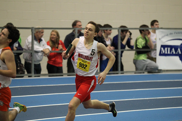 4x800m Relay -- 2013 MIAA Indoor Track All-State Championship