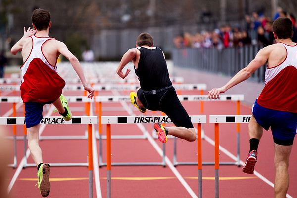 2013 Newton North vs. Natick Outdoor Track