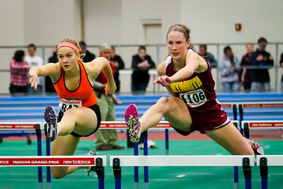 Weymouth's Jen Kimball took the indoor state penthathlon with the #5 all-time score and also earned Bay State Conference MVP honors.