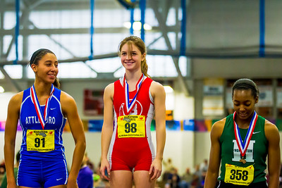 Barnstable's Amanda Henson won the 55m at the MIAA State Open meet.