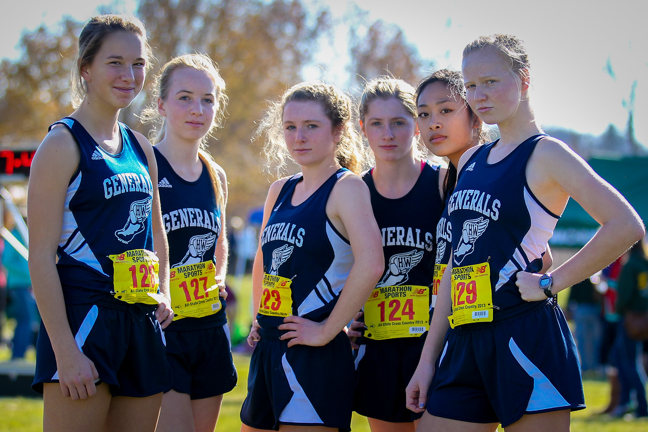 Hamilton Wenham took the State Open D2 girls title with 56 points and a 1-5 gap of 55 seconds.