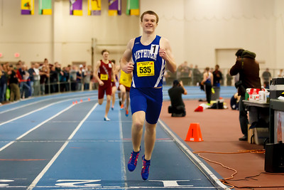 Methuen's Mike O'Donnell won the MIAA State Open mile in 4:15.81