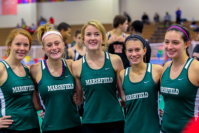Marshfield wins girls team pentathlon title