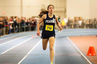 Catarina Rocha won the MIAA State Open 1 mile in 449.14