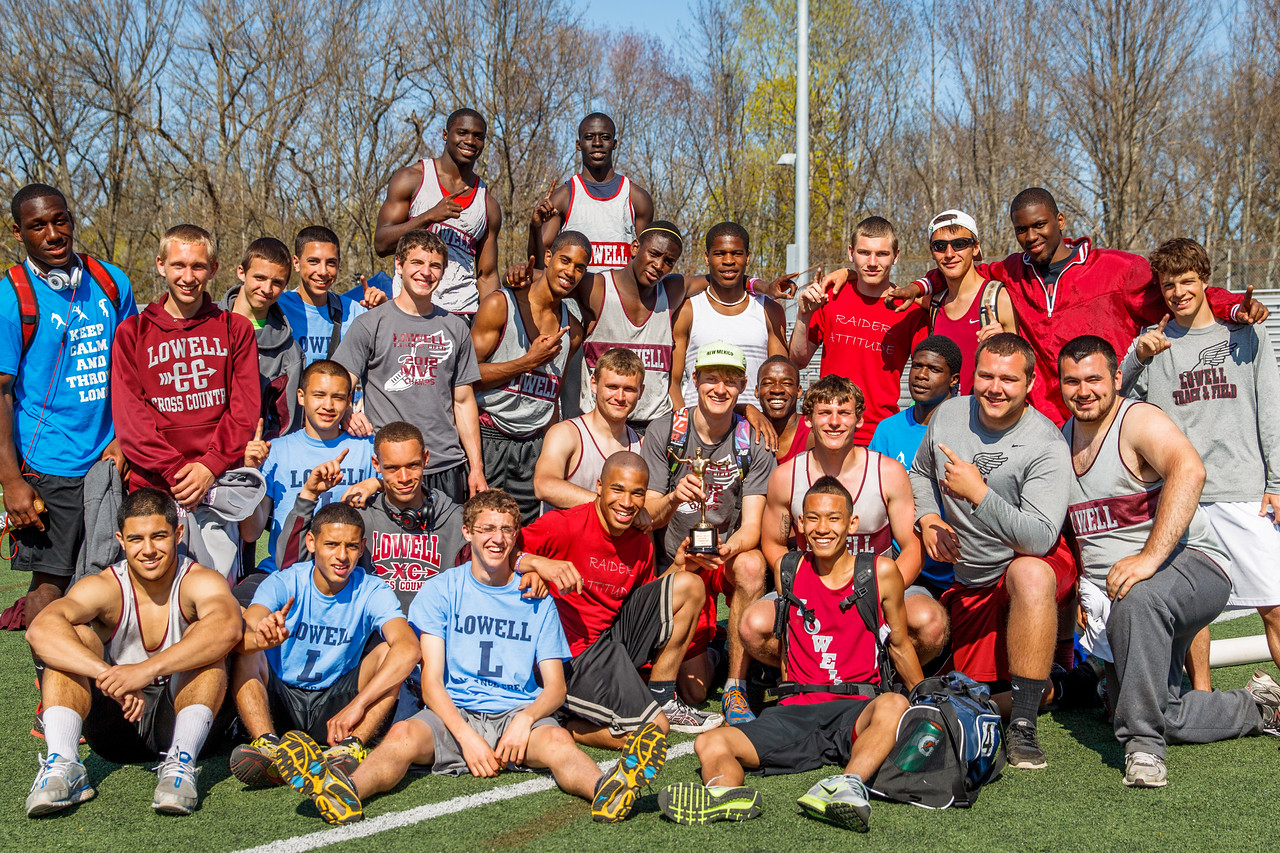 Lowell wins the D1 Outdoor State Relays.