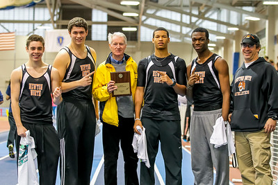 Newton North team pentathlon champions.