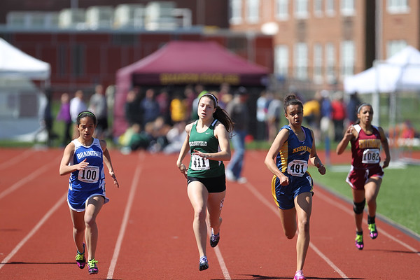 200m -- 2013 Outdoor MSTCA Freshman Sophomore Meet -- Large School
