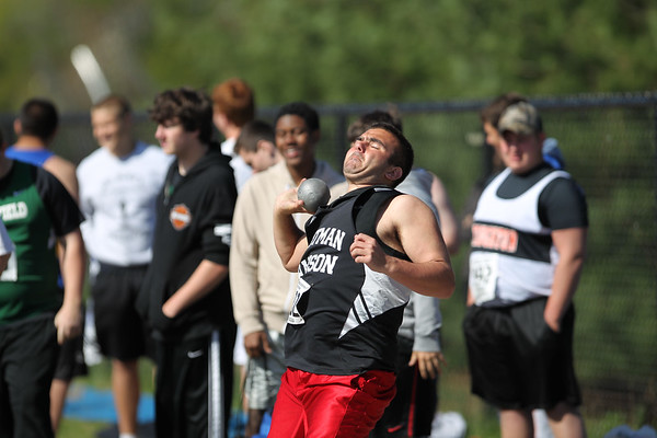 Shot Put -- 2013 Outdoor MSTCA Freshman Sophomore Meet - Large School