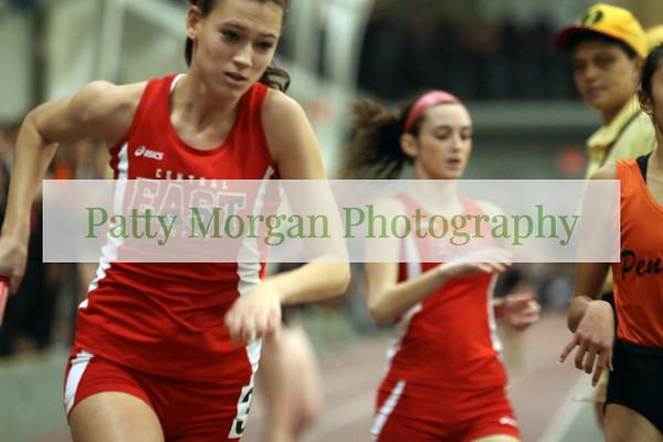 CB East Girls Indoor Track 2012-2013