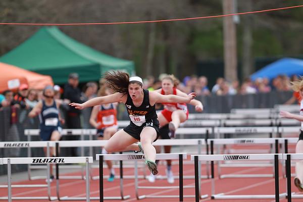 100/110 hurdles