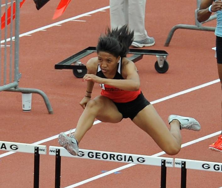 Kendell Williams - Georgia women's track & field team (Photo by John Kelley / Georgia Sports Communication)