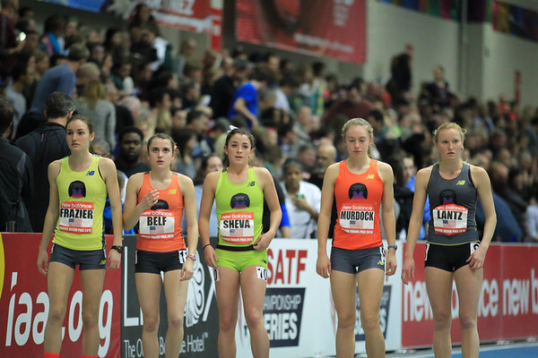 High School Girls Mile
