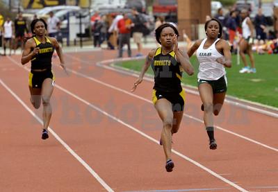 Samford University Track Meet 03/14/2015