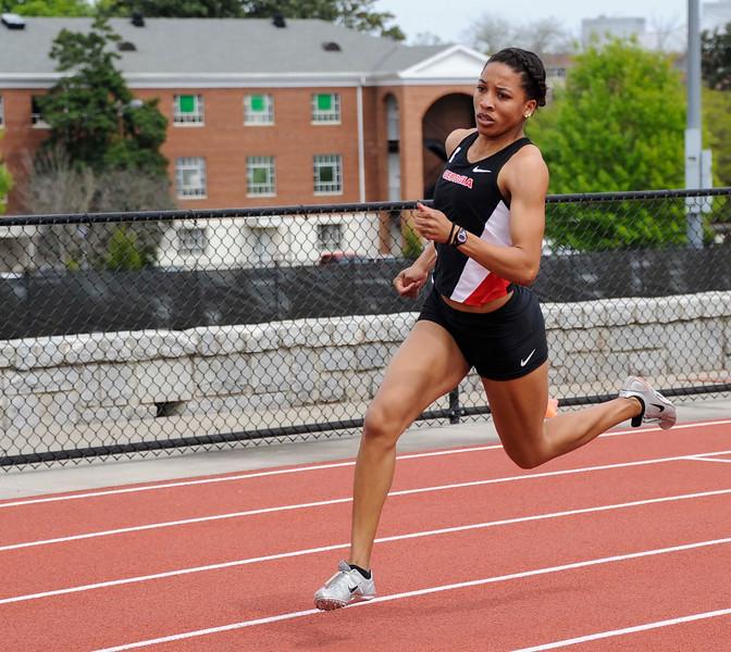 Kendell Williams - Georgia track and field team (Photo by John Kelley/UGA)