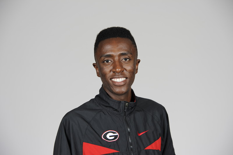 Bryan Kamau - UGA men's cross country team (Photo from Georgia Sports Communications)