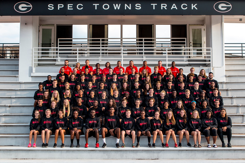 The University of Georgia Track and Field Team (photo from Georgia Sports Communications)