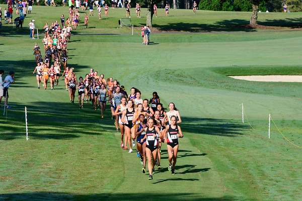 Georgia's Jessica Drop and Samantha Drop during the 2017 Bulldog SEC Preview at the UGA Golf Course in Athens, Ga. on Saturday, Sep. 9, 2017.  (Photo by Caitlyn Tam / Georgia Sports Communication)