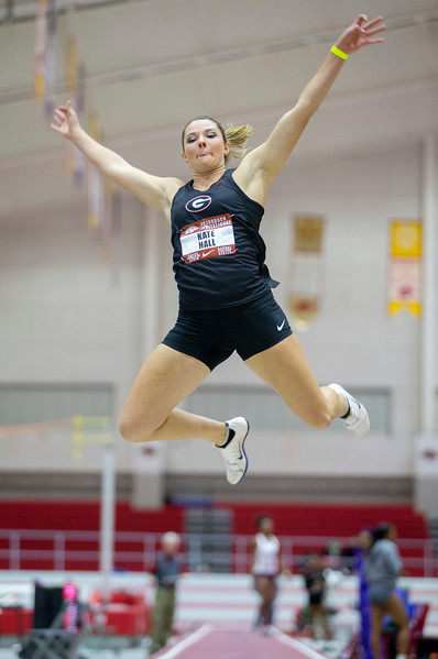 Kate Hall, Sophomore, UGA track and field team (photo from Georgia Sports Communications)