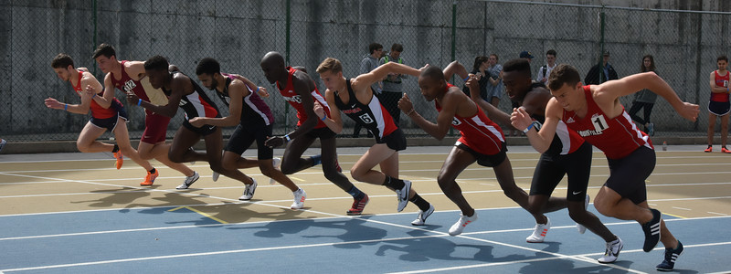 UGA track & field team competing at the Yellow Jacket Invitational (Photo from Georgia Sports Communications)