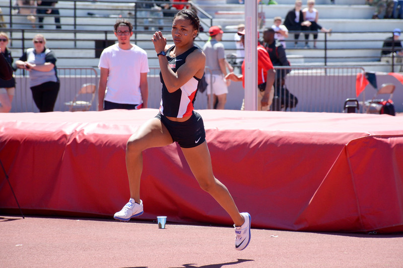 Kendell Williams - UGA Women's Track and Field Team -  (Photo from Georgia Sports Communication)