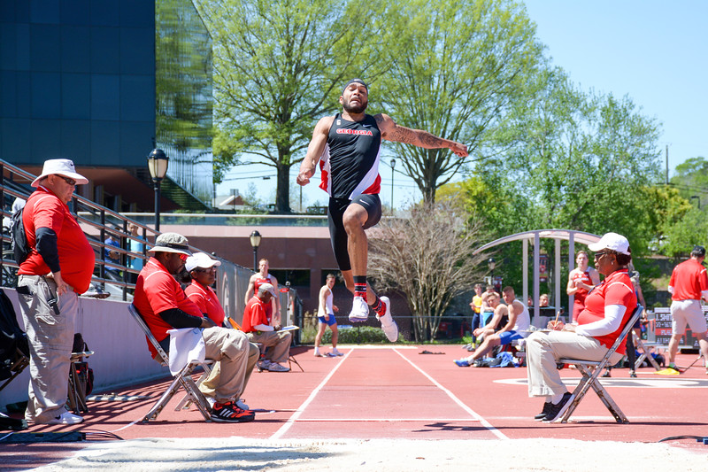 Devon Williams - UGA Men's Track and Field Team (Photo from Georgia Sports Communications)