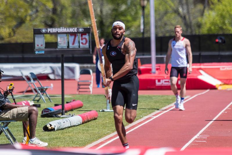 Devon Williams - UGA Men's Track and Field Team -  (Photo by John Paul Van Wert/Georgia Sports Communication)