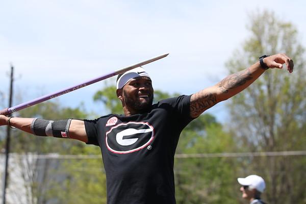 Devon Williams - UGA Men's Track and Field Team (Photo by Cory A. Cole/Georgia Sports Communication)