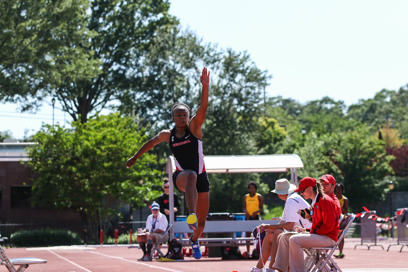 Keturah Orji - Georgia Track and Field (Photo by Cory A. Cole/Georgia Sports Communication)