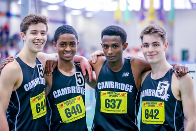 2014 Indoor State Open Championships 4x800m Relay