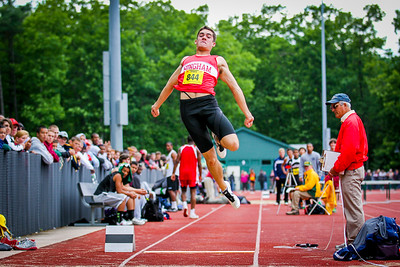"""2012 MIAA Outdoor All State Meet - 22'7"""" - 2nd"""