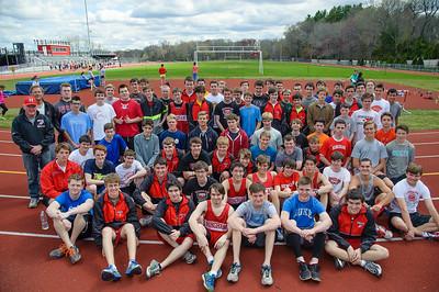 2014 Hingham High School Spring Track Team