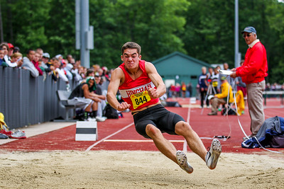 """2012 MIAA Outdoor State Championships - 22'7"""" - 2nd"""